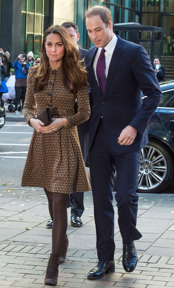 La Duquesa de Cambridge recupera su talla y su antiguo armario