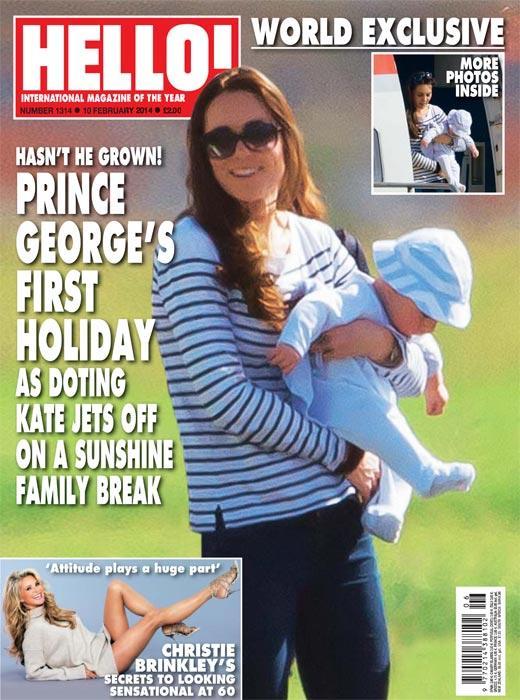 Exclusiva mundial en '¡HOLA!': El príncipe George, en su primer viaje familiar al extranjero