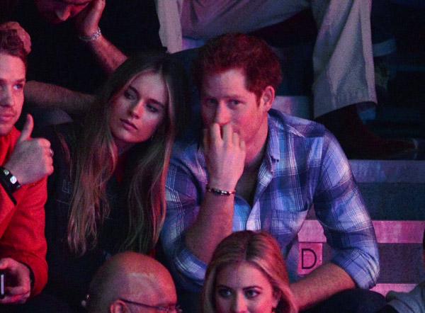 El príncipe Harry y Cressida Bonas: derroche de cariño en su primer compromiso oficial juntos
