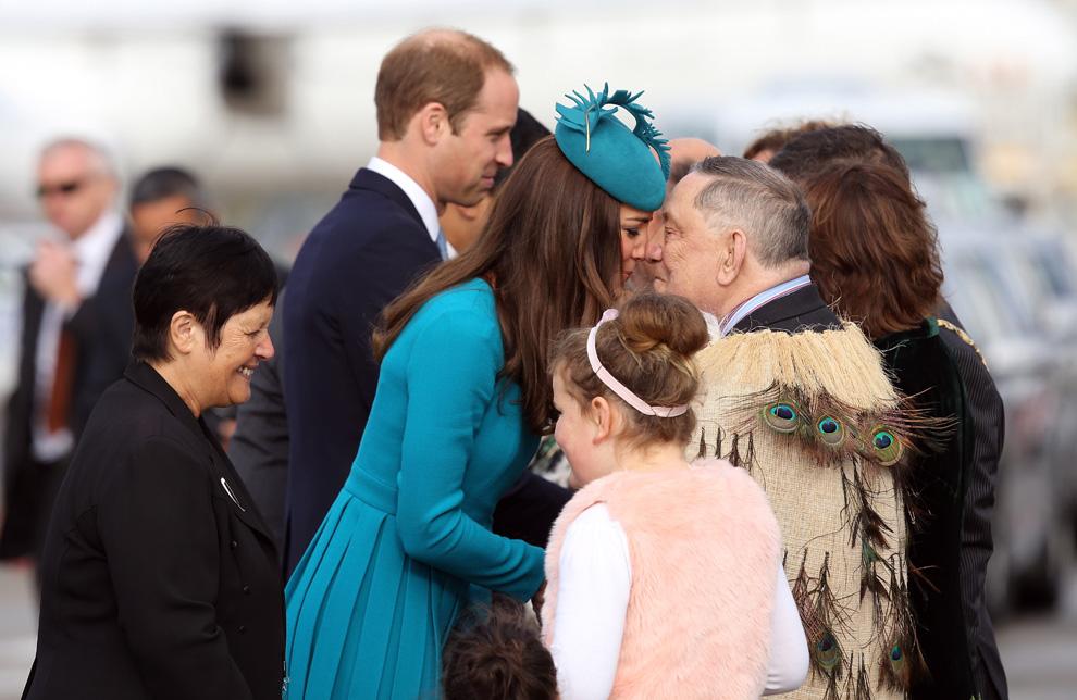 Los Duques de Cambridge liberan adrenalina en Nueva Zelanda