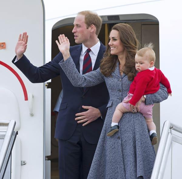 Los Duques de Cambridge cierran una gira oficial de matrícula
