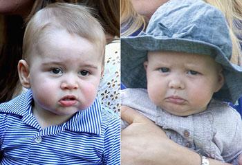 El primer encuentro del príncipe George y su prima, Mia Grace, fue una 'carnicería', según Mike Tindall