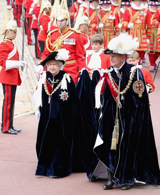 La mirada cómplice de los Duques de Cambridge en el desfile de la orden de la Jarretera