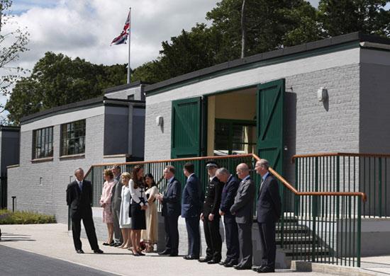 La Duquesa de Cambridge recuerda a su abuela espía en una emotiva visita