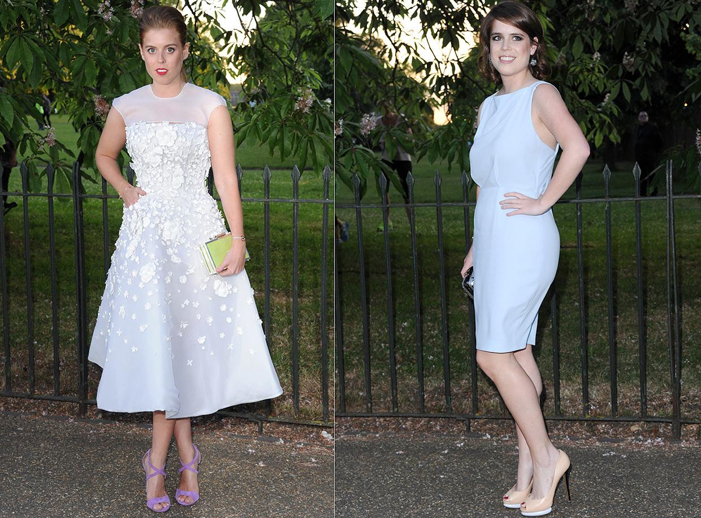 La versión más sofisticada de las princesas Beatriz y Eugenia en la fiesta del verano en Londres