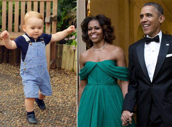¿Qué le han regalado los Obama al príncipe George por su cumpleaños?