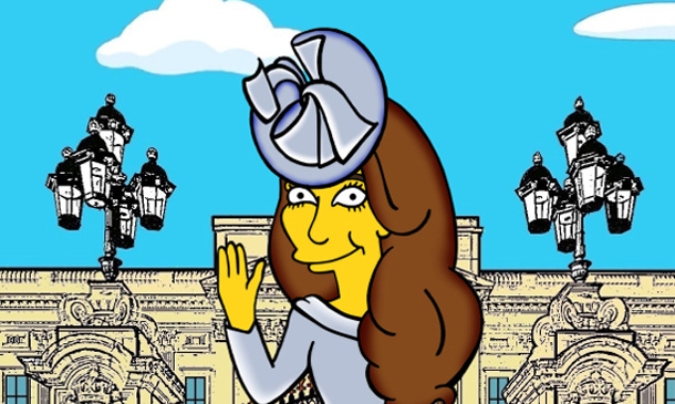 La Duquesa de Cambridge, lista para visitar Springfield