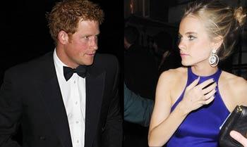 El príncipe Harry celebra sus treinta con una especial fiesta de cumpleaños en Clarence House y una cita con Cressida Bonas al cine