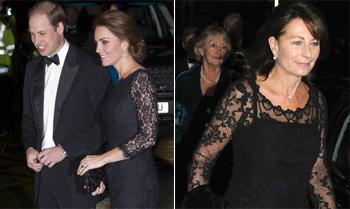 La Duquesa de Cambridge y su madre, ¿visión doble?
