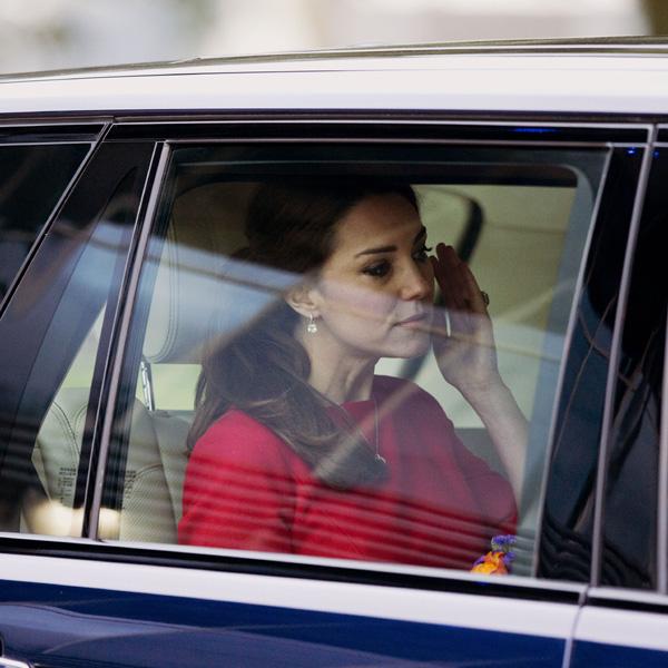 La emoción supera a la Duquesa de Cambridge durante la recaudación de fondos para un centro infantil