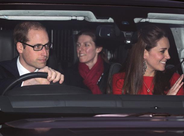 Nuestra bloguera Ella Windsor y la niñera española del príncipe George se unen al tradicional almuerzo navideño de la reina Isabel II