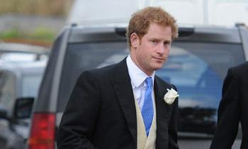 El príncipe Harry, el invitado estrella en la boda de unos amigos