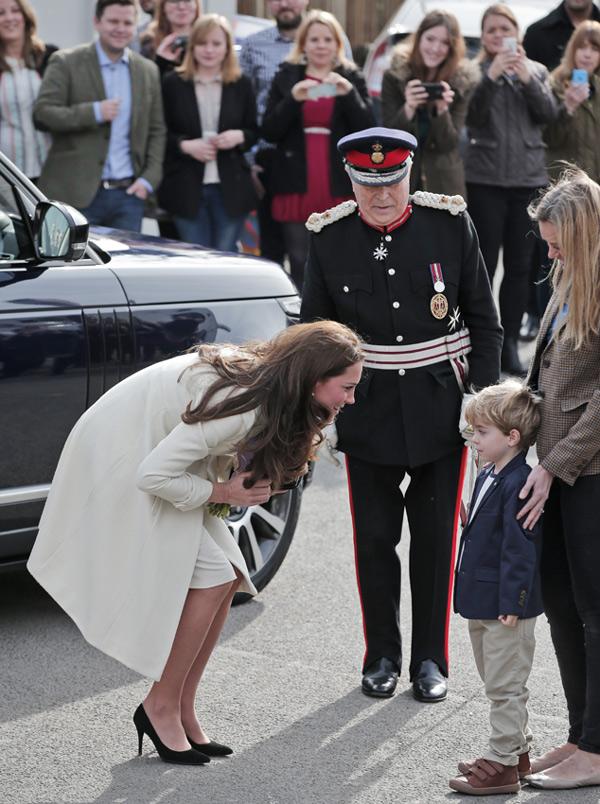 La Duquesa de Cambridge, nueva invitada de excepción de 'Downton Abbey'