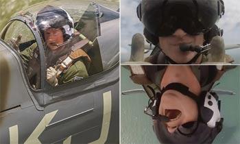 ¿Miedo a las alturas? El príncipe Harry libera adrenalina con su vuelo acrobático