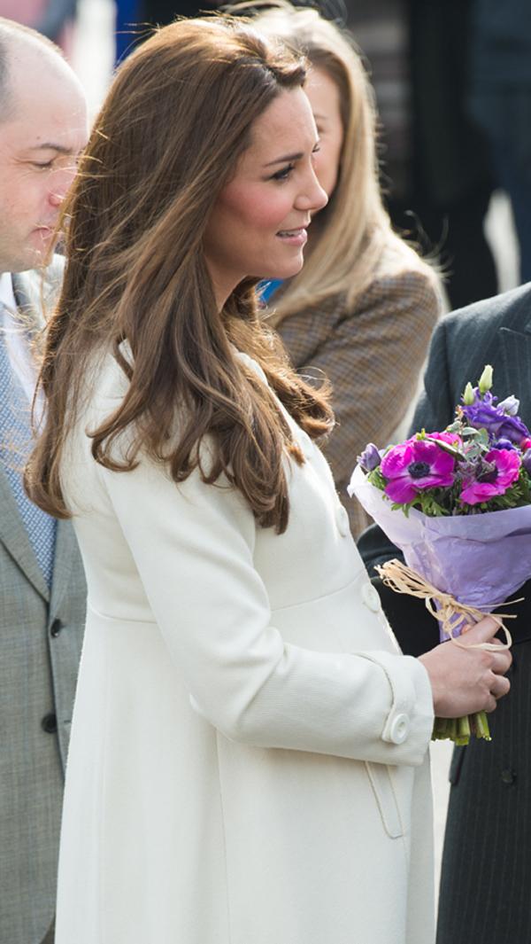 Así pasa Kate sus últimos días de embarazo y así la esperan en el hospital