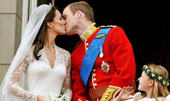 Los Duques de Cambridge vuelven al Palacio de Buckingham por su aniversario de boda