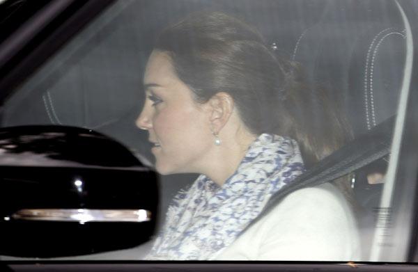 Los Duques de Cambridge viajan con sus hijos a Anmer Hall, su nuevo hogar