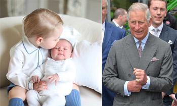 El príncipe Carlos, orgulloso abuelo, revela que la princesa Charlotte ya duerme toda la noche