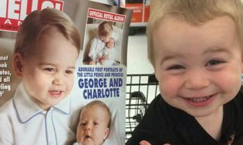 ¡Al príncipe George le ha salido un gemelo!