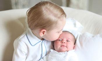 ¿Con qué consigue el príncipe George esa brillante cabellera? En su abuelo está la respuesta