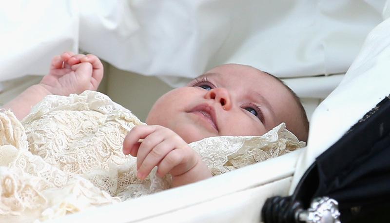 Así ha sido el bautizo de la princesa Charlotte de Cambridge