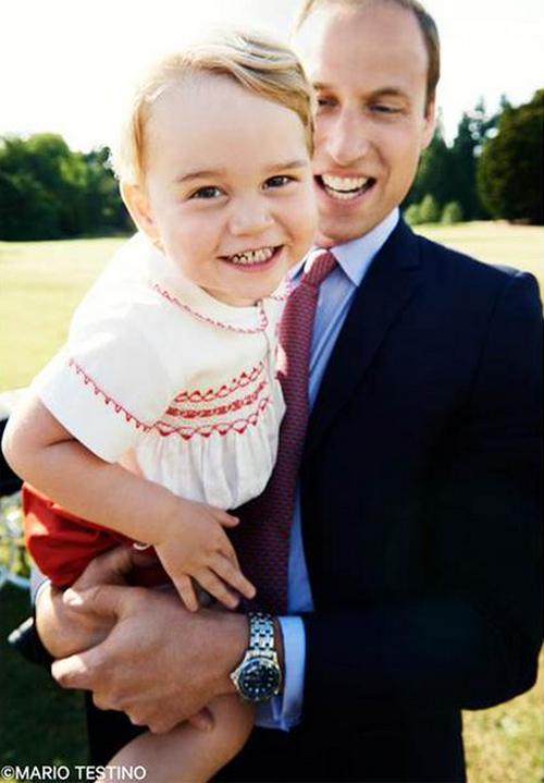 La foto más simpática del niño más simpático: el príncipe George cumple dos añitos, ¡felicidades!