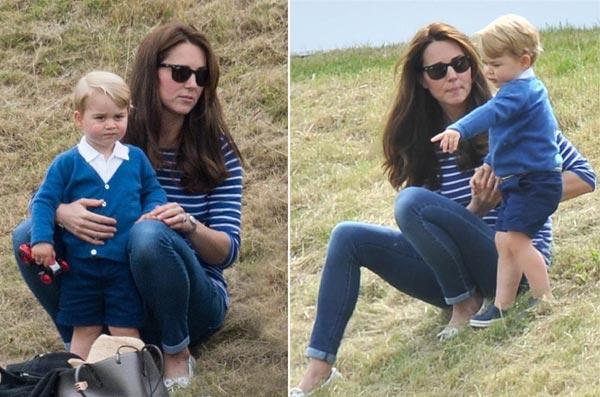 El príncipe Carlos restaura la casita del árbol del príncipe Guillermo para su nieto George