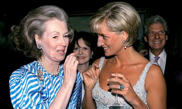 Diana de Gales y su madrastra, la condesa Spencer, ¿enemigas o confidentes?