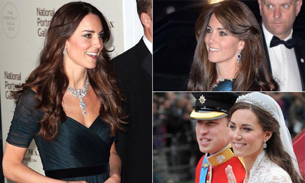 Abrimos el joyero real de la Duquesa de Cambridge