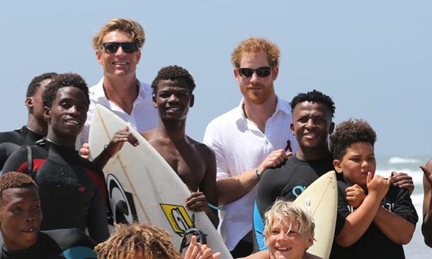 Memorias de África con Harry de Inglaterra