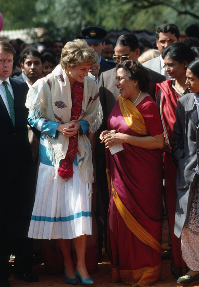 Los Duques de Cambridge siguen la senda de Diana de Gales