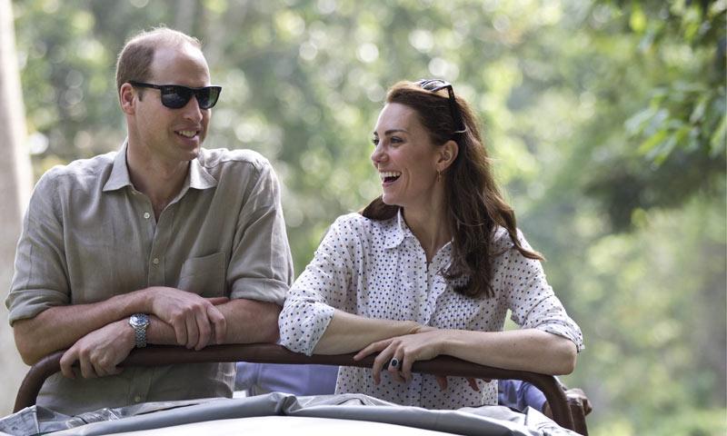 Los Duques de Cambridge 'están bien' tras el terremoto que se ha sentido en la India