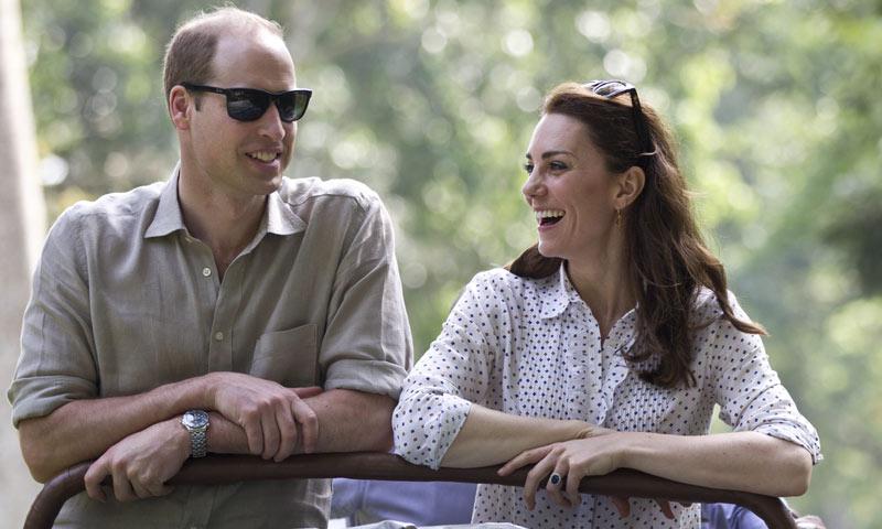 Los momentos más emotivos y divertidos del príncipe Guillermo y su esposa en su viaje