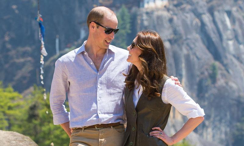 Los Duques de Cambridge y sus miradas que lo dicen todo