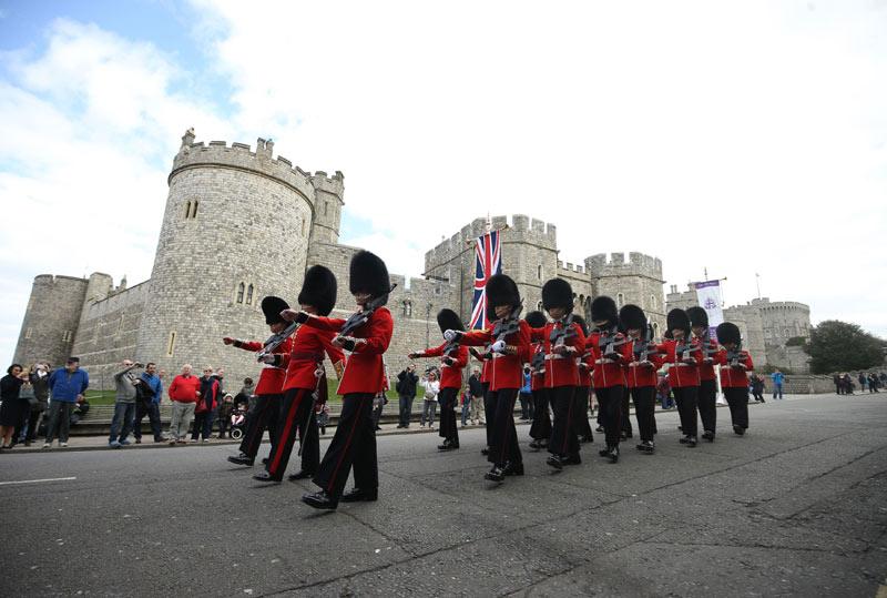 Londres se prepara para el 90 cumpleaños de Isabel II