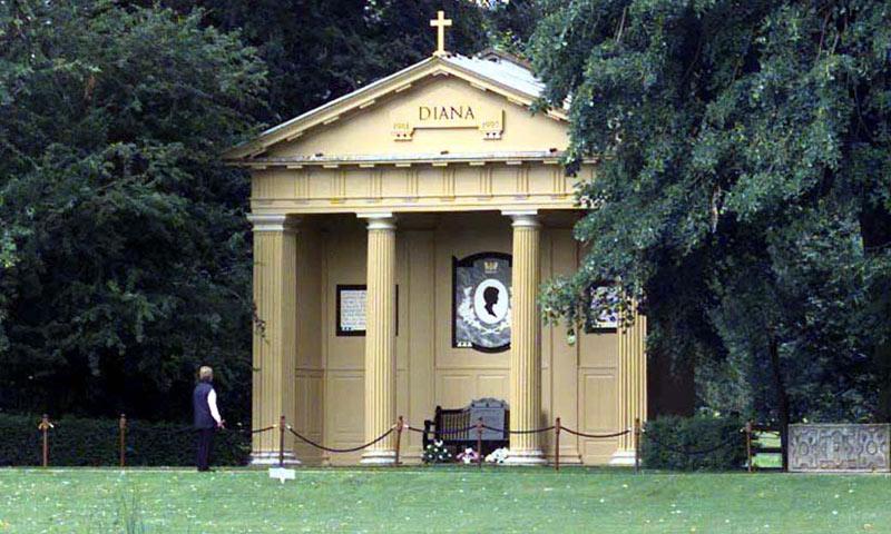 El mausoleo de Diana de Gales se remodela de cara al 20 aniversario de su fallecimiento