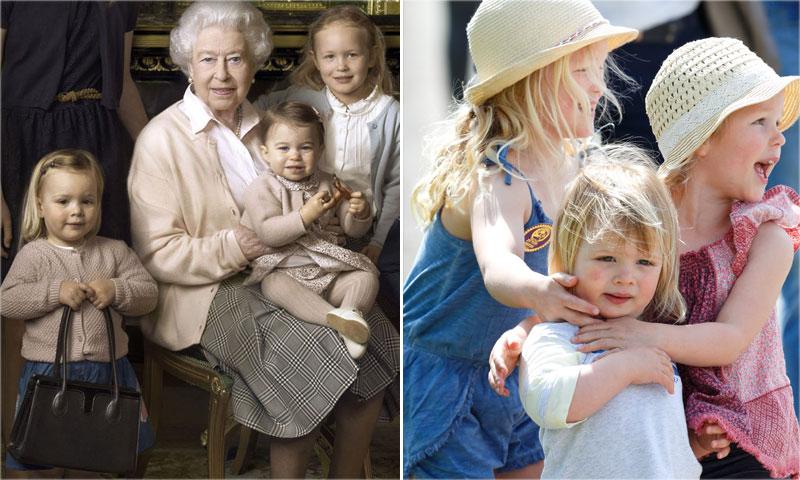 Mia Grace Tindall, del retrato histórico a la hípica: ¿esta pequeña con bolso es la bisnieta favorita de Isabel II?
