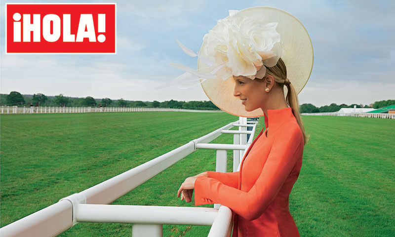 Un día en las carreras con lady Gabriella Windsor