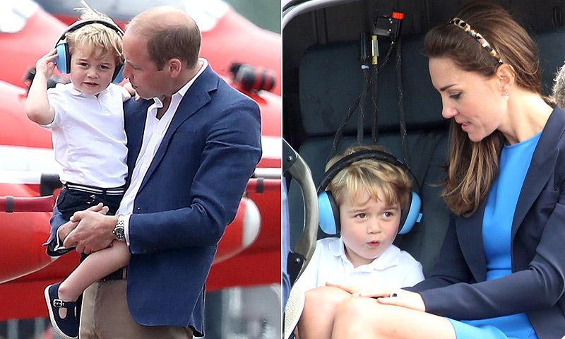 El príncipe George, un 'mini' piloto de lo más adorable