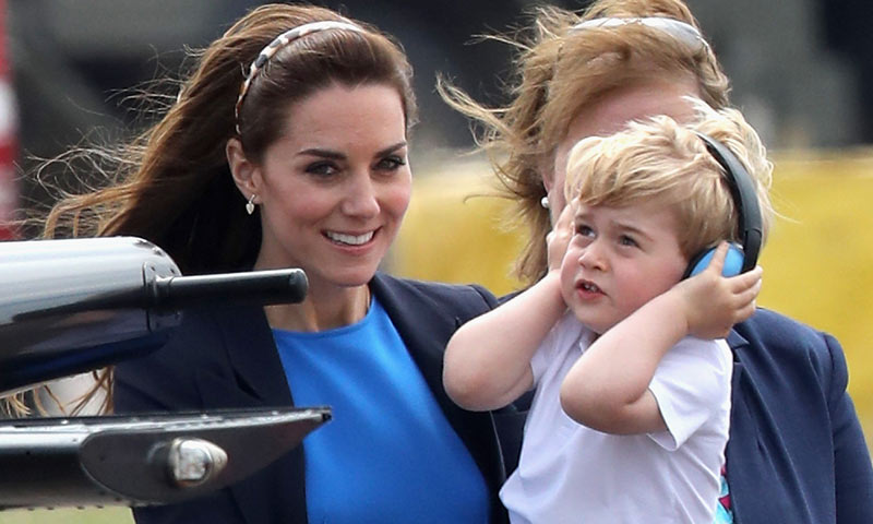 En vídeo: ¡El más adorable todavía! El día en el que George de Cambridge cumplió un sueño