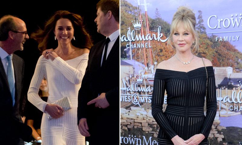 Al vestido de la Duquesa de Cambridge le ha salido una 'sombra' de Griffith