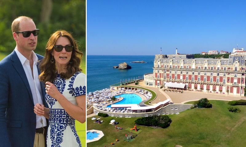Las reales vacaciones de los Duques de Cambridge en Biarritz, destino histórico de Reyes