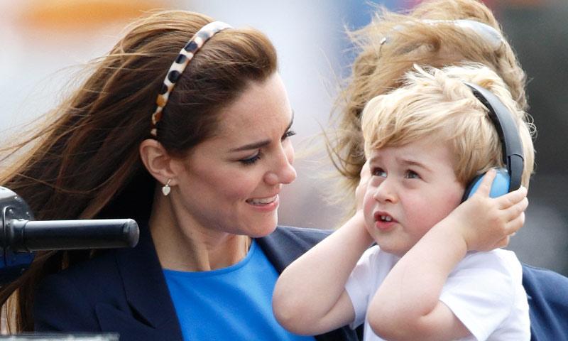Así siembra el 'caos' en casa el príncipe George según la Duquesa de Cambridge
