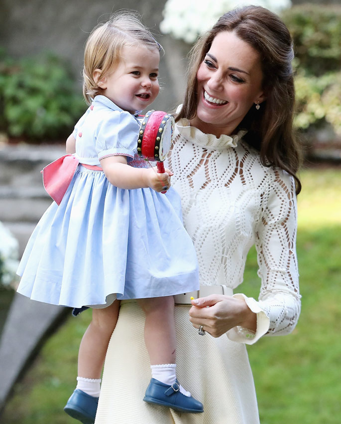 George y Charlotte de Cambridge