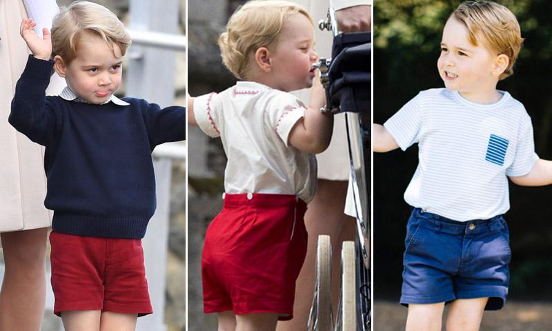 George de Cambridge: la verdadera razón por la que el Príncipe solo lleva pantalones cortos