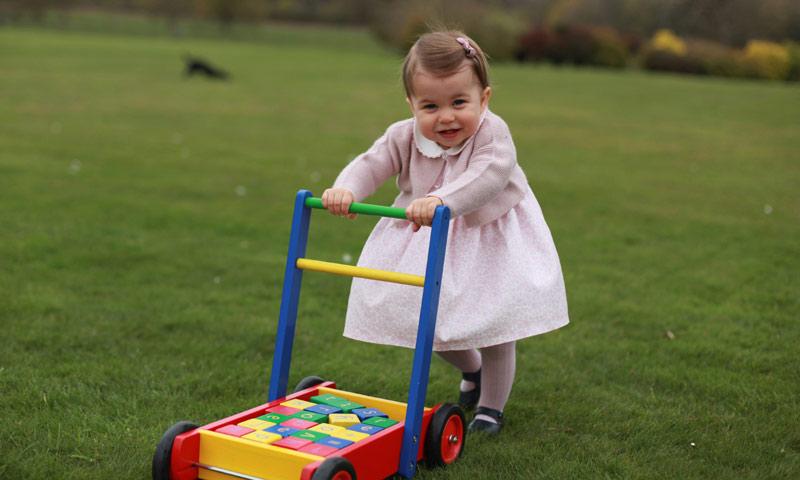 Los Duques de Cambridge revelan el talento más deportivo de la princesa Charlotte