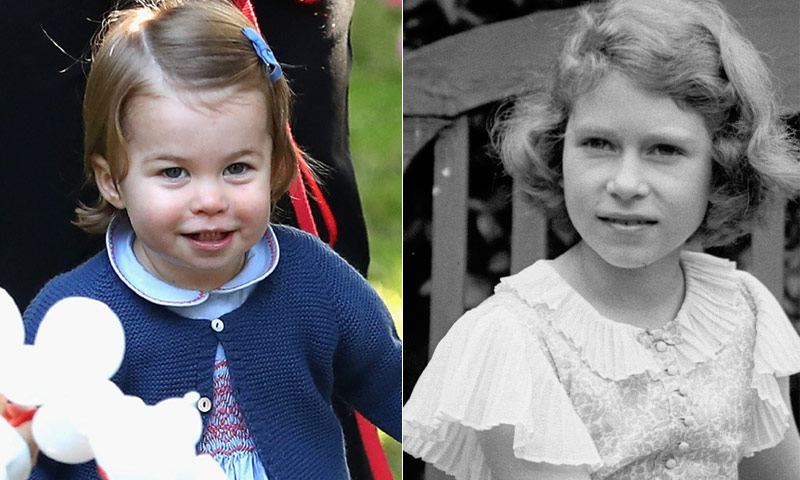 Charlotte de Cambridge, más que un simple parecido a Isabel de Inglaterra