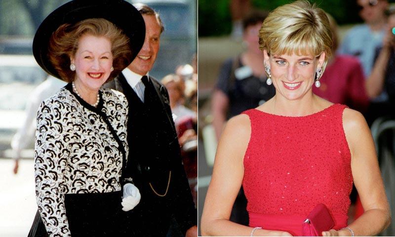 Fallece Raine Spencer, madrastra de Diana de Gales