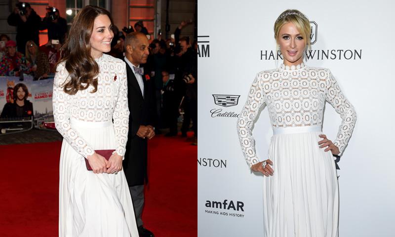 Paris Hilton, ¿la nueva inspiración de la Duquesa de Cambridge en la alfombra roja?