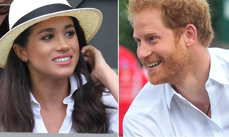 La escapada secreta de Harry de Inglaterra para ver a su novia, Meghan Markle, en Toronto